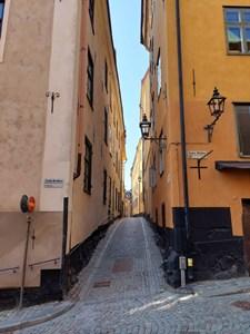 スウェーデンの町並み